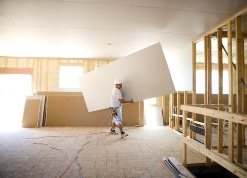 Why are gypsum board partitions so feasible?